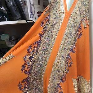 St. Barts Calypso Resort Wear Cover Up Maxi Dress